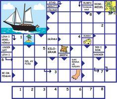 Barnkryss - Stålberg Sweden, School Ideas, Periodic Table, Flu, Periodic Table Chart, Periotic Table