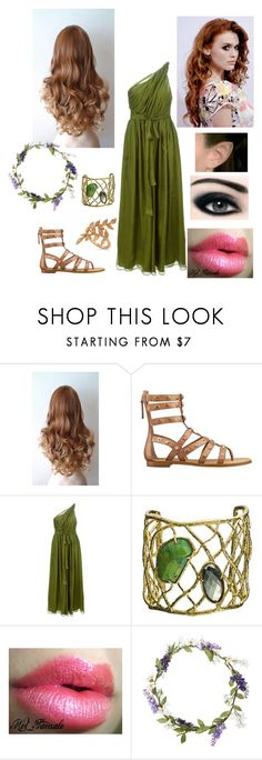 """""""Carly ~ Taking Khona to visit my friends"""" by ticcitobydreams ❤ liked on Polyvore featuring GUESS, MSGM, Alexis Bittar, Max Factor, Topshop and Allurez"""