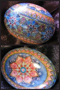 Pysanka Egg by Mark E. Malachowski.