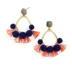 30 Statement Earrings That Will Make Your Outfit Instantly Chic #theeverygirl