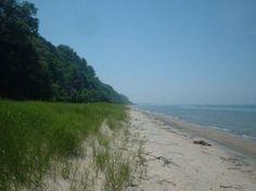 Lake Bluff Sanctuary - beautiful views of Lake Michigan.