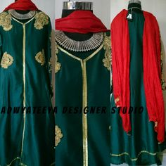 Another one Anarkali Bridal Lehenga, Anarkali, Tunic Tops, Traditional, How To Wear, Beautiful, Women, Fashion, Moda
