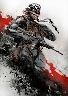 Metal Gear Solid Old Snake