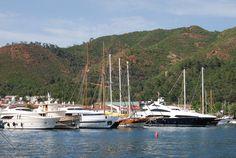 Yachts in the harbor : Turkey