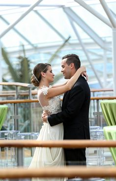 In love with love. Royal Caribbean's Royal Romance program crafts elegant weddings and other romantic occasions for a beautiful, one-of-a-kind event that truly reflects you.