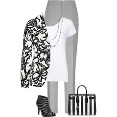 """""""B&W"""" by victoria-victrairo on Polyvore"""