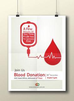 Blood Donation Advertising by lotus alrasbi, via Behance