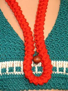 Ketten aus Romanian Cord Lace | bennelle