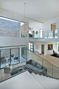 Modern Mansion Interior, Dream House Interior, Luxury Homes Dream Houses, Dream Home Design, Modern House Design, Modern Interior Design, Contemporary Home Design, Minimalist Home Design, Modern Apartment Design