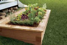 garden box- style idea