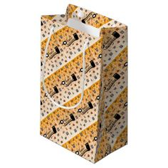 Happy Halloween emoji Small Gift Bag - cat cats kitten kitty pet love pussy