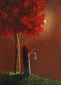 Now She Wont Be Alone 3 Original Artwork Painting