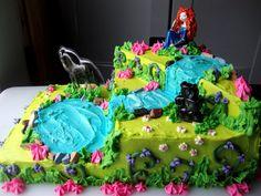 Disney's Brave Cake