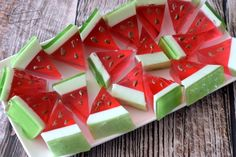Simple Cake Designs, Jello Recipes, Food Humor, Yummy Cakes, Food Pictures, Love Food, Cupcake Cakes, Watermelon, Sweet Tooth