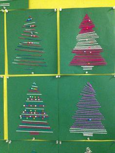 Christmas Crafts, Xmas, Advent Calendar, December, Holiday Decor, Collages, Handmade, Scrapbooking, Hand Made