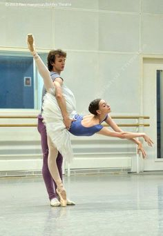 Olga Smirnova and Semyon Chudin, Bolshoi Ballet Photo (c) 2013, Marc Haegeman