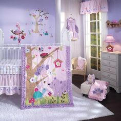 Lambs and Ivy Mystic Forest Baby Bedding
