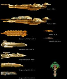 Naves Escala Star Trek