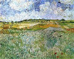 The Plain at Auvers - Vincent Van Gogh