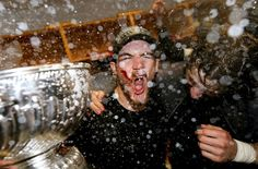 One of the most glorious, iconic, unforgettable photos of the 2013 Stanley Cup Champion Blackhawks. #shawsome