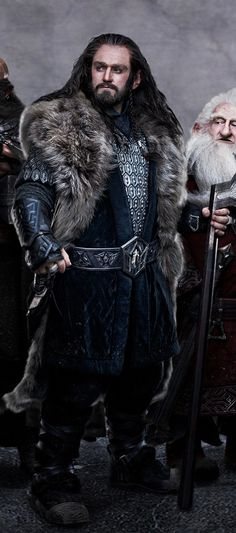 Thorin - THEEEEE Duuuuuuuude!!!!! Awesomeness Sauce. Best Character in The Hobbit. The end.