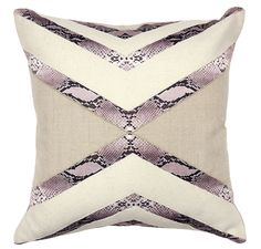 UT Karla Pillow in Natural design by Villa Home | BURKE DECOR