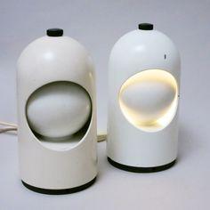 Pair of Selene White desk lamps by Lightolier, Packaging, Scandinavian, 1960s, Objects, Desk, Product Design, Futuristic, Home Decor, Table Desk