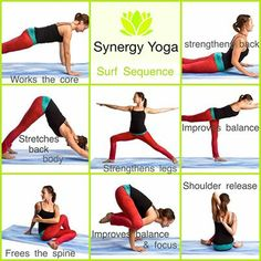 Check out Aimee at Synery Yoga's moves on our Waves and Workouts weekend!
