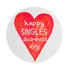 Happy Singles Awareness Day Pin | Icing