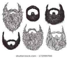 Illustration about Hand Drawn Beard Set Hand Drawn Beard Set. Illustration of black, identity, comedy - 37068504 Beard Images, Hipster Hairstyles, Free Hand Drawing, Illustration, Sketch Inspiration, Colorful Drawings, Stock Foto, Cartoon Drawings, Vector Art