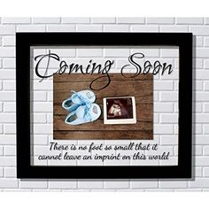 Daddy to Be Ultrasound Picture Frame 7x14 Sonogram Gift, Dad Father, Choose Your Mat Color and Frame - Barnwood Frame & Taupe Mat