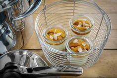 Découvrez cette recette en vidéo pour apprendre cette recette de Lagostina : Cheesecake à la vapeur aux zestes de citron  et confit d'orange amer