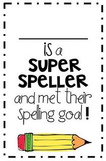 Motivating your students to practice their spelling words!