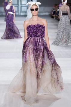 Giambattista Valli Fall 2014 Couture Fashion Show - Louise Parker