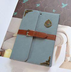 Harry Potter hogwarts crest blue Leather ipad Air 2 Case cover #UnbrandedGeneric