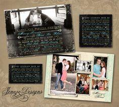 Beautiful Photo Wedding Invitation  www.jeneze.com Photo Wedding Invitations, Wedding Invitation Design, Invites, Wedding Inspiration, Wedding Ideas, Stationary, Dream Wedding, Beautiful, Wedding Invitation Templates
