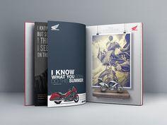 Concept Print Module Honda 2013 by Maxim Tyutmanov, via Behance Print Design, Honda, Behance, Concept, Cover, Art, Art Background, Kunst, Performing Arts