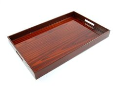 Trays, Luxury Designer Rosewood Breakfast Tray, so beautiful, one of over 3,000 limited production interior design inspirations inc, furniture, lighting, mirrors, tabletop accents and gift ideas to enjoy repin and share at InStyle Decor Beverly Hills Hollywood Luxury Home Decor enjoy & happy pinning