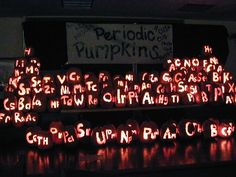 Periodic Table of Pumpkins! table.jpg (400×300)