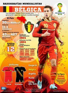 Bélgica posee una generación capaz de regresar a la élite mundial.