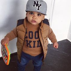 57 trendy baby outfits for boys swag guys Toddler Boy Fashion, Little Boy Fashion, Toddler Boys, Kids Boys, Fashion Kids, Baby Boys, Fashion Fashion, Fashion Clothes, Baby Outfits