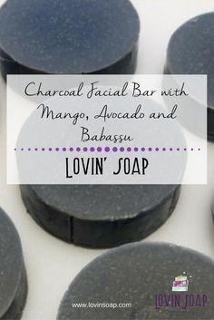 Charcoal Facial Bar with Mango, Avocado and Babassu (1)