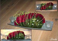 Diy Flowers, Flower Decorations, In Loving Memory, Florals, Champagne, Dessert, Easy, Flowers, Floral