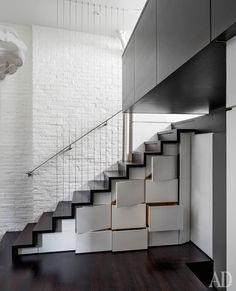 Квартира в Верхнем Вест-Сайде, архитекторы Скотт Шпехт и Луис Харпман.