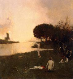 Arthur Matthews - Nudes in the Landscape