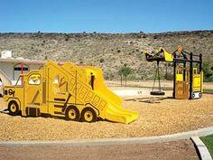 Dump Truck by Landscape Structures Inc.
