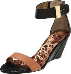 Amazon.com: Sam Edelman Women's Sophie Wedge Sandal: Shoes