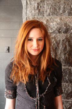 Hair color and cut ♥ {Karen Gillan} Karen Gillan, Karen Sheila Gillan, Pretty Redhead, Redhead Girl, Red Hair Woman, The Girl Who, Redheads, Sexy, Hair Cuts