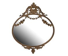 French Baroque Rococo Gold Antique Ornate Decorative Wall Mounted Mirror for sale online Baroque, Edwardian Fashion, Edwardian Style, Mirrors For Sale, Oval Mirror, Rococo Style, Wall Mounted Mirror, Decorative Cushions, Frame