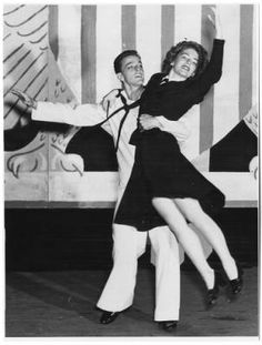 "[Coralee Burson Davis and Gower Champion in ""Tars and Spars,"" 1944] :: Women Veterans Historical Project"